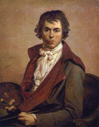 Self-Portrait, 1794 (Jacques Louis David) (1746-1825) Musée du Louvre, Paris
