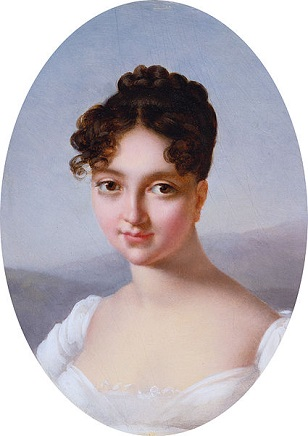 Self-Portrait, ca. 1800 (Marie-Victoire Jaquotot) (1772-1855)  Sothebys Old Masters Sale, January 31 - February 1, 2013,