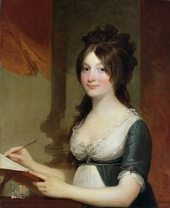 A Young Woman, ca. 1802 (Gilbert Stuart) (1855-1828)  Location TBD