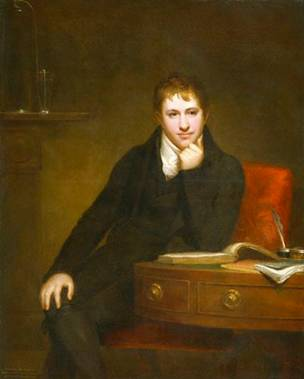 Sir Humphry Davy, Bt, ca. 1803 (Henry Howard) (1769-1847)   National Portrait Gallery, London   NPG 4591