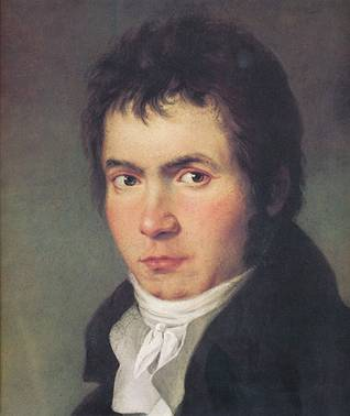 Ludwig von Beethoven,  ca. 1804 (W.J. Mahler) (??-??) Location TBD
