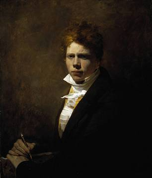 Self-Portrait at 20 years old, ca. 1805 (David Wilkie) (1785-1841)  Location TBD