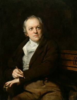 William Blake, ca. 1807 (Thomas Phillips) (1770-1845)   National Portrait Gallery, London   NPG 212