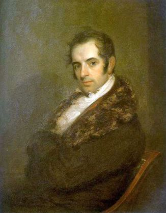 Washington Irving, 1809 (John Wesley Jarvis) (1780-1840) Location TBD