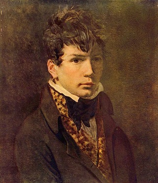 A Young Man, possibly Georges Rouget, ca. 1800 (Jacques-Louis David) (1748-1825)   The Pushkin Museum of Fine Arts, Moscow