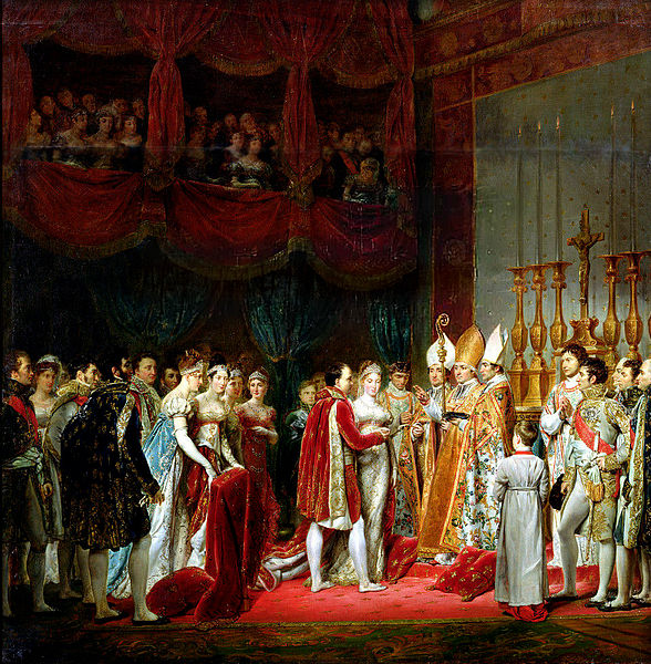 Marriage of Napoleon and Marie-Louise, April 1, 1810 (Georges Rouget, 1811) (1781-1869)   Versailles