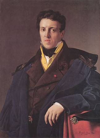 Charles-Marie-Jean-Baptiste Marcotte, 1810 (Jean-Auguste-Dominique Ingres) (1780-1867) Location TBD