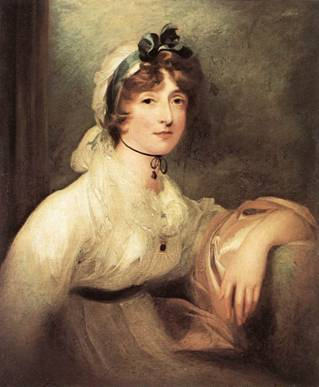 Diana Sturt, Lady Milner, ca. 1815-1820 (Sir Thomas Lawrence) (1769-1830) Kunsthistorisches Museum, Wien