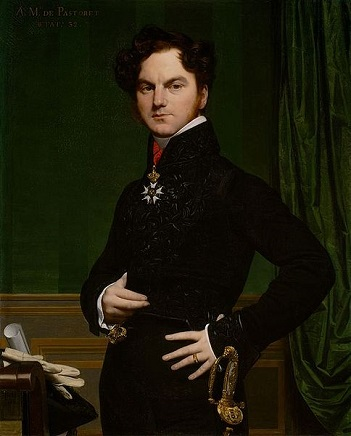 Amédée-David, the Comte de Pastoret, ca. 1825 (Jean August Dominique Ingres) (1780-1867) Art Institute of Chicago, IL, 1971.452