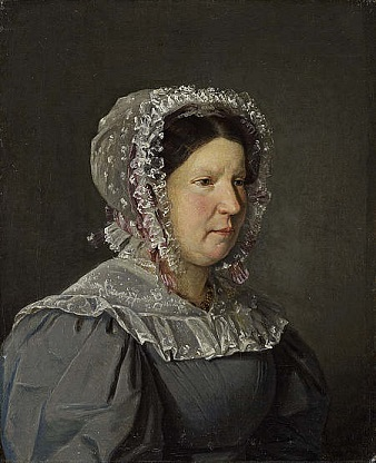 Cecilia Margaret Købke, the artist's mother, 1829 (Christian Købke) (1810-1848) Scottish National Gallery, Edinburgh, NG 2741