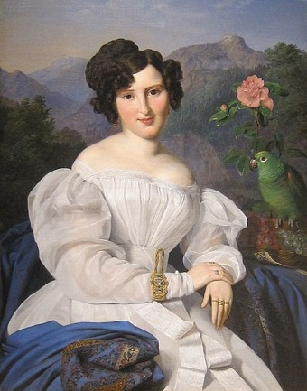 Countess Szechenyi, 1828 (Ferdinand Georg Waldmüller) (1793-1865) Cleveland Museum of Art, OH