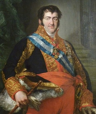 Ferdinand VII, King of Spain, ca. 1824 (Vincente López y Portaña) (1772-1850) Location TBD