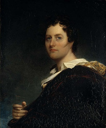 George Gordon, 6th Lord Byron, 1822 (William Edward West) ) (1788-1857) Scottish National Portrait Gallery, PG 1561