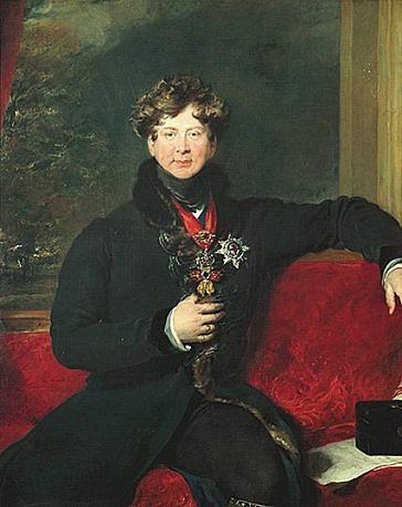 George IV, King of England, 1822 (Sir Thomas Lawrence) (1769-1830) Devonshire Collection, Chatsworth House, Derbyshire