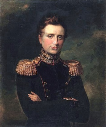 Grand Duke Michael Pavlovich of Russia, 1829 (George Dawe) (1781-1829) Location TBD