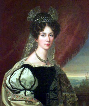 Josephine of Leuchtenberg, future Queen Consort of Sweden and Norway, ca. 1823 (Fredric Westin) (1782-1862)  Location TBD