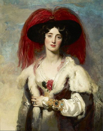 Julia Floyd, Lady Peel, 1827 (Sir Thomas Lawrence) (1769-1830) The Frick Collection, New York NY, 1904.1.83