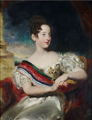 Maria II, Queen Regnant of Portugal, 1829 (Sir Thomas Lawrence) (1769-1830) The Royal Collection, London