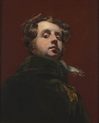 Self-Portrait, 1826 (Henry Wyatt) (1794-1840) Philip Mould Ltd., London