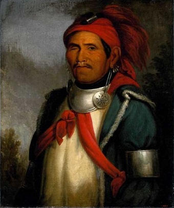 Tenskwatawa, Shawnee Prophet, ca. 1820 (Charles Bird King) (1785-1862) Location TBD