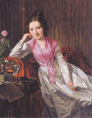 Theresa Krones, 1824 (Ferdinand Georg Waldmuller) (1793-1865) Private Collection