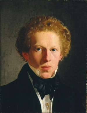 A Young Man, 1823 (Wilhelm Bendz) (1804-1832) Location TBD