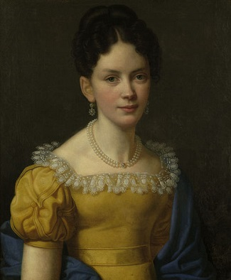 A Young Woman, 1826 (Heinrich Christoph Kolbe) (1771-1836) Location TBD