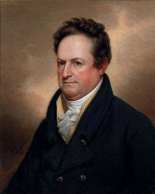 Dewitt Clinton, 1823 (Rembrandt Peale) (1788-1860) Christie's Fine Art Auction