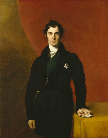 George Hamilton, 4th Earl of Aberdeen, 1829 (Sir Thomas Lawrence) (1869-1830) Private Collection