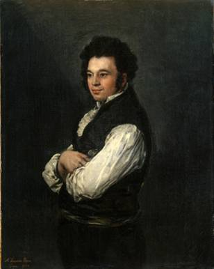 Tiburcio Pérez y Cuervo, 1820 (Francisco Goya) (1746-1828) The Metropolitan Museum of Art, New York, NY 30.95.242