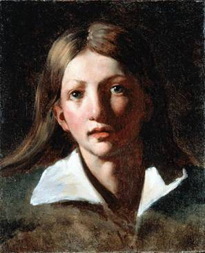 A Youth, ca. 1818-1820 (Théodore Géricault) (1790-1824) Kimbell Art Museum, Fort Worth, TX 1969.07