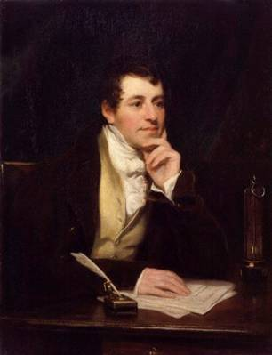 Sir Humphry Davy, Bt, ca. 1821 (Thomas Phillips) (1770-1845) National Portrait Gallery, London NPG 2546