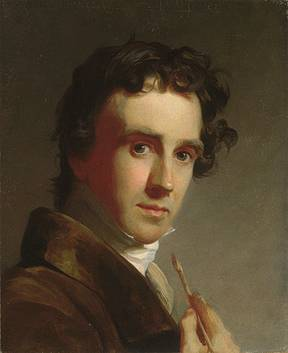 Self Portrait, ca. 1821 (Thomas Sully) (1783-1872) The Metropolitan Museum of Art, New York, NY 1894 (94.23.3)
