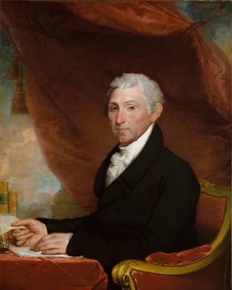 James Monroe, ca. 1820-1822 (Gilbert Stuart) (1755-1828) The Metropolitan Museum of Art, New York, NY 29.89