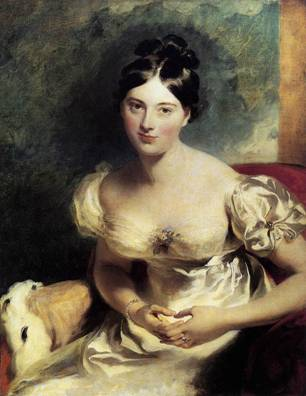 Margaret, Countess of Blessington, ca. 1822 (Thomas Lawrence) (1769-1830) The Wallace Collection, London