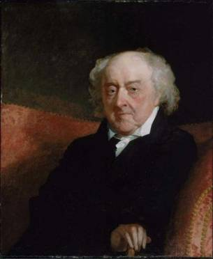 John Adams, 1823 (Gilbert Stuart) (1755-1828) Museum of Fine Arts, Boston, MA 1999.590