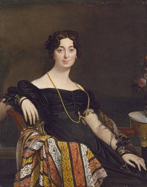 Madame Jacques-Louis Leblanc, ca. 1823 (Jean Ingres) (1780-1867) The Metropolitan Museum of Art, New York, NY 19.77.2