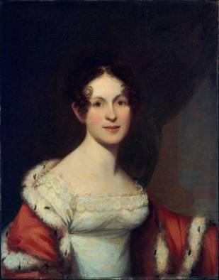 Mrs. Nathaniel West, Jr. (Mary White), ca. 1820-1826 (James Frothingham) (1786-1864) Museum of Fine Arts, Boston, MA 1985.927