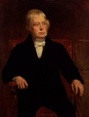 Sir Walter Scott (replica), 1829 (John Graham Gilbert) (1794-1866) National Portrait Gallery, London NPG 240