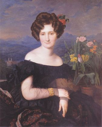 Johanna Borckenstein, 1829 (Ferdinand Georg Waldmuller) (1793-1865) Private Collection