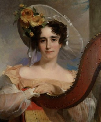 Mademoiselle Adele Sigoigne, ca. 1829 (Thomas Sully) (1783-1872) The Huntington, San Marino, CA