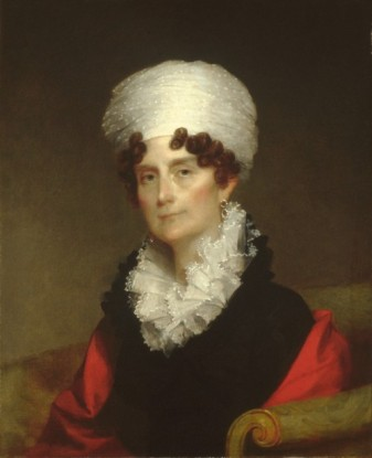 Mrs. Andrew Sigourney, ca. 1820 (Gilbert Stuart) (1755-1828) The Metropolitan Museum of Art, New York, NY 1978.380