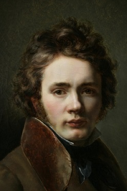 Self-Portrait, 1820 (Jean-Augustin Franquelin) (1798-1839) Location TBD