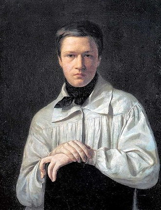 Self-Portrait, 1825 (Alexei Tyranov) (1808-1859) Location TBD