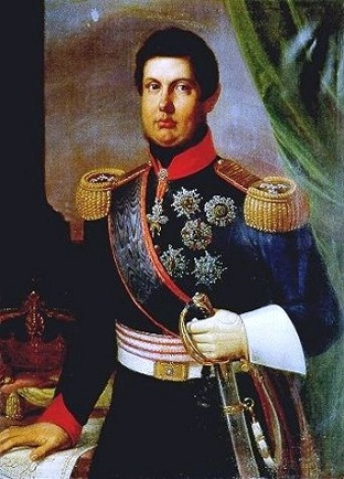 Ferdinand II, King of the Two Sicilies, ca. 1830 (Unknown Artist)  Location TBD