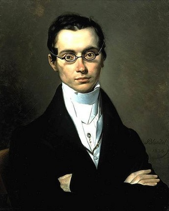 A Man with Glasses, 1835 (Merry-Joseph Blondel) (1781-1853)  Private Collection