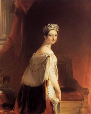 Queen Victoria of England, 1838 (Thomas Sully) (1783-1872) The Wallace Collection, London