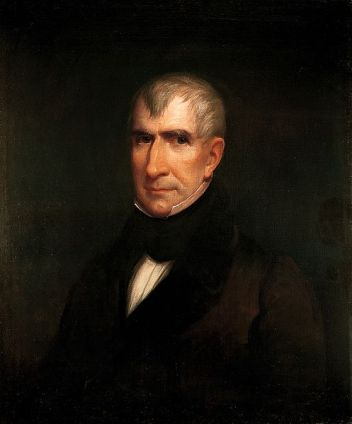William Henry Harrison, 1835 (James Lambdin) (1807-1889)The White House Art Collection, Washington D.C.