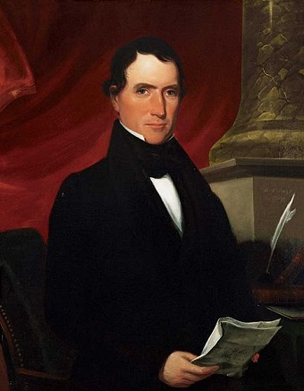 William Rufus King, 1839  (George Cooke) (1793-1849)   Philanthropic Society, Phi Hall, University of North Carolina, Chapel Hill