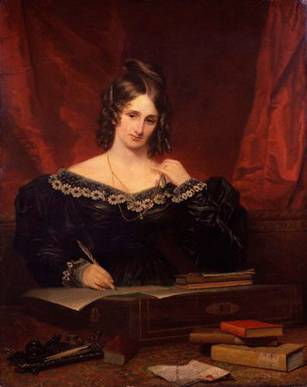 A Woman, possibly Mary Wollstonecraft Shelley, 1831  (Samuel John Stump) (1778-1863)   National Portrait Gallery, London   NPG 1719